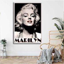 $enCountryForm.capitalKeyWord Australia - Marilyn Monroe Canvas Painting Print Living Room Home Decor Modern Wall Art Oil Painting Poster Artwork