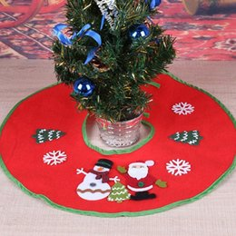Cloth bandages online shopping - Merry Christmas Tree Skirts with Bandage Blanket Carpet Natal New New Year Decoration Christmas Decorations for Home Tree Skirt