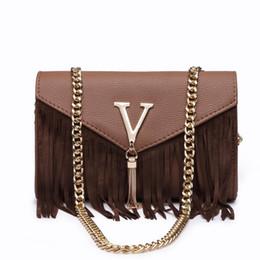 Wholesale Ladies Brand Handbags NZ - Designer Brand bags for women 2019 Women Messenger Bags Ladies Chain Shoulder Bag classic brand Leather Handbag bolsa feminina