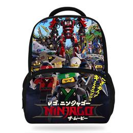 Ninjago Rush Game Print School Backpacks Teen Fashion Laptop Shoulder Bags Boys Girls Bookbag Children Drop Shipping Beautiful In Colour Kids & Baby's Bags