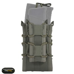 $enCountryForm.capitalKeyWord UK - EMERSONGEAR Dual Decker Mag Pouch Airsoft Mag Pouches Emerson Bag Camouflage MOLLE Mag Holder Coyote Brown Black