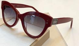 $enCountryForm.capitalKeyWord Australia - Womens 0266 S Sunglasses Red Grey Smoke Shaded Sun Glasses Designer Sunglasses Shades Eyewear New with Box