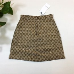 Woman s petticoat online shopping - 19ss Paris G Letter Plaid pleated skirt Short Pants elastic waist track Trousers Women petticoat Casual Jogger Outdoor Shorts