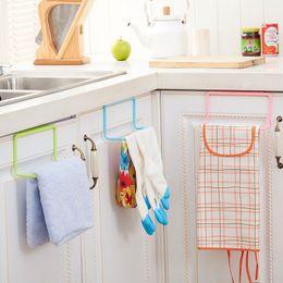 $enCountryForm.capitalKeyWord Australia - New Bathroom Kitchen Towel Rack Cabinet Door Back Hanging Towel Shelf Holder Rag Brush Organizer Kitchen Accessories