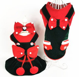 plaid dog Australia - Super cute 2019 new Christmas cat and dog universal couple armor skirt pet clothes pet supplies