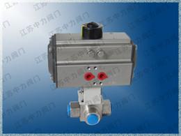 $enCountryForm.capitalKeyWord Australia - High pressure stainless steel pneumatic three-way ball valve