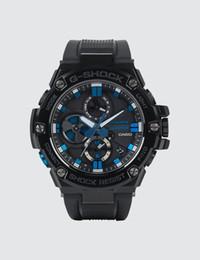 383e5ad3bff8 Compre Casio G Shock G Steel BLUE NOTE ARCHIVOS LIMITADO GST B100BNR 1A  Reloj Tough Solar Para Hombre A  314.73 Del Justtimehk