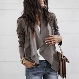 $enCountryForm.capitalKeyWord Australia - Womens Women Jacket Top Sweater Outwear Autumn Casual Cardigan LADY Women Irregular Ladies