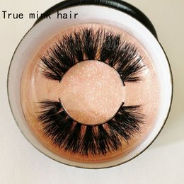 Cheap Cotton Stalks Australia - Factory wholesale new style true mink hair eyelashes High quality with cheap price true mink hair eyelashes with customized package