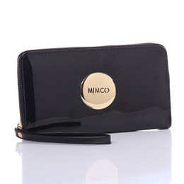 Vintage makeup holder online shopping - Brand Mimco Wallet Women PU Leather Purse Wallet Large Capacity Makeup Cosmetic Bags Ladies Classic Shopping Evening Bag