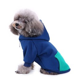 drop ship sports clothes Australia - Pets Dog Puppy Clothes Big Small Dog Clothing Autumn Winter Sport Clothes Pet Four Foot Jacket Hoodie Coat Drop Shipping