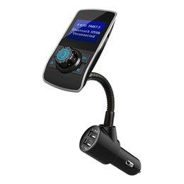 Car Calling Australia - Car Bluetooth Player Mp3 Bluetooth Hands-free Calling Dual USB Car Charger Bluetooth Player