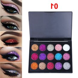 popular eyeshadow Australia - Shadow Nice Color Popular Glitter Eye Style For Make Up Diamond Sequins Shiny Eyeshadow Palette Branded Shining Eyes Makeup Palettes