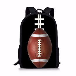 $enCountryForm.capitalKeyWord Australia - Noisydesigns Backpack Childdrens Cool 3D Baseballs Print School Bags For Teenage Boys Soccers Mochilas Basketballs Rucksack 16