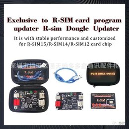 sim card dongle NZ - R-SIM dongle updater For 12+ | 14 | 15 dedicated R-SIM card affixed to update updater