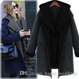 $enCountryForm.capitalKeyWord Australia - Nice New Fashion Autumn Winter High Quality Long Wool Jackets Lapel Neck Collar Woollen Blends Hooded Thick Wool Coats M~5xl