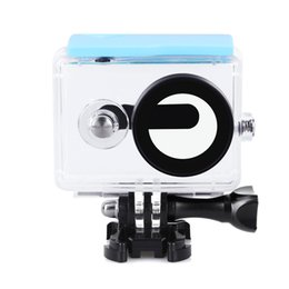 xiaomi camera waterproof case NZ - Wholesale Action Camera Waterproof Case Underwater Diving Protector Cover Housing Case For Xiaomi xiaoyi Yi Action Camera Accessories by DHL