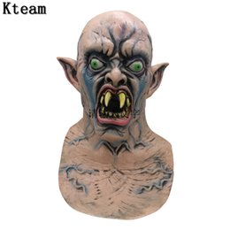 $enCountryForm.capitalKeyWord Australia - Fun New Hot Halloween Bloody Scary Horror Mask Adult Zombie Monster Vampire Mask Latex Costume Party Full Head Cosplay Mask Masquerade Props
