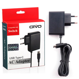 charger adapter types NZ - AC Adapter Charger For Nintend Switch NS Game Console EU Plug Wall Travel Charge 5V 2.4A Charging USB Type C Power Supply