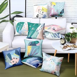 $enCountryForm.capitalKeyWord UK - Customize Satin Cushion Cover Colouring Printing Logo Brand Advertising Gift Sofa Car Chair Seat Pillow Case Home Decorative Green