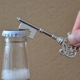 Random Key Australia - Color Random Retro Metal Portable Key Beer Bottle Opener Ring Bar Hangings Keychain for Wedding Party GT05