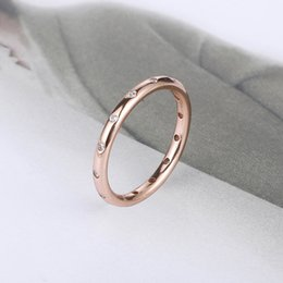 $enCountryForm.capitalKeyWord Australia - Rose Gold Drop Ring S925 Silver Ring Ring Can Be Sent As A Gift Free Shipping