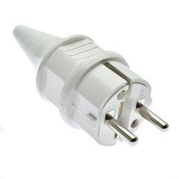 $enCountryForm.capitalKeyWord UK - 16A 220V 250V European French German Power Plug Connector Cable Electrical Socket Accessories EU Detachable Power Plug Black White