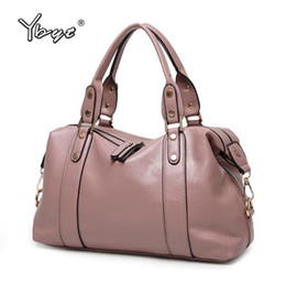 Large Packs Australia - Ybyt Brand Nice Pop Pu Leather Fashion Casual Women Totes Large Capacity Shopping Bag Lady Travel Pack Shoulder Crossbody Bags