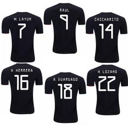 747cb131db9 2019 MEXICO CHICHARITO VELA MARQUEZ DOS SANTOS CUSTOMIZED camisetas soccer  uniform kits soccer jerseys thailand quality football shirts kit