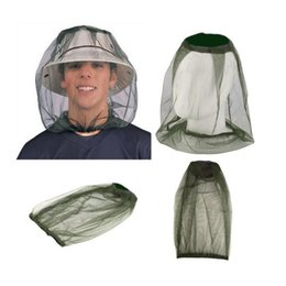 face covering mask UK - Anti-Mosquito Head Netting Insect Mosquito Head Net Mesh Protective Cover Mask Face Anti-mosquito Bee Bug Insect Fly Mask Tents C467