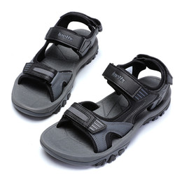 $enCountryForm.capitalKeyWord Australia - men sandals Wholesale shoes factory 2019 new summer men open-toed non-slip slippers male hot style beach shoes high quality sports sandals