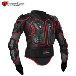 $enCountryForm.capitalKeyWord Australia - Jacket Herobiker Motorcycle Full Body Armor Jacket Motorcycle Armor Spine Chest Protection Gear Motorcycle Protective Motocross Armor