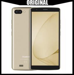 "Gold Gp 18 Australia - Original Blackview A20 Android GO 3G Smartphone 5.5""18:9 Screen MTK6580M Quad Core 1GB RAM 8GB ROM Dual Back Cameras 3000mAh GPS Phone"