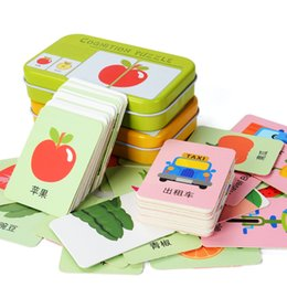$enCountryForm.capitalKeyWord Australia - 1 Set Baby Kids Toddler Cognitive Cards Iron Box Cognition Puzzle Toys Matching Pair Game Vehicl Fruit Animal Daily Necessities