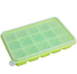 $enCountryForm.capitalKeyWord NZ - 15-Hole Food Grade Silicone Ice Cube Mold Whisky Ice Tray with Lid Square-shape DIY Ice Mold