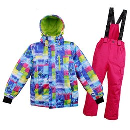 $enCountryForm.capitalKeyWord Australia - New Arrival Children's Outdoor Ski Suit Waterproof Ski Suits Warm Breathable Wind Proof Fashion Suits For Kids