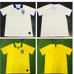 2019 World cup Brasil soccer jerseys men Brazil Jersey 2019 20 JESUS  COUTINHO FIRMINO MARCELO football kit shirt camisa de futebol e9eb6d3a9