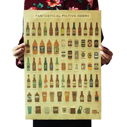 $enCountryForm.capitalKeyWord UK - Beer Encyclopedia of Graphic Evolutionary History Bar Counter Adornment Kitchen Retro Vintage Poster Wall Sticker