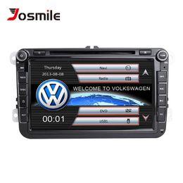 $enCountryForm.capitalKeyWord Australia - Josmile 2 Din Car DVD Player For VW Volkswagen Passat b6 b7 Skoda Octavia Superb T5 Golf 5 Polo Seat leon Radio GPS Navigation