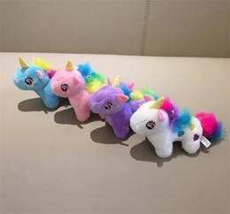 $enCountryForm.capitalKeyWord NZ - New Arrival Super Cute , Medium 10CM Approx. 4 Colors- Unicorn Stuffed Animal Plush Toys , Gift key chain Plush DOLL TOY