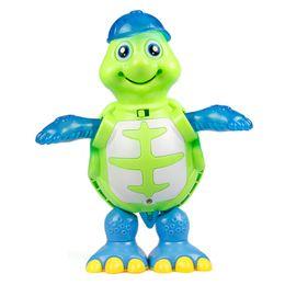 $enCountryForm.capitalKeyWord NZ - Transformation toys & Robots suzakoo Cartoon turtle music light dance walk simuation model robot one pcs action figure