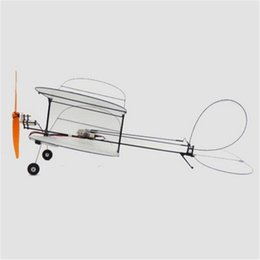 model trucks kits Canada - TY Model Black Flyer V2 Carbon Fiber Film RC Airplane Kit With Power System Good Models Gifts
