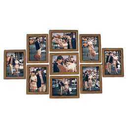 $enCountryForm.capitalKeyWord UK - 9pcs Frame Set 7-inches Creative Wedding Series Family Photo Frames For Picture Wall Decor 2018 C19041701