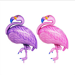 $enCountryForm.capitalKeyWord Australia - INS Internet celebrity flamingo foil inflatable balloon photo props birthday party wedding home barroom decoration balloon accessories