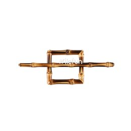 $enCountryForm.capitalKeyWord UK - Vintage hair accessories ornament hollowed square bamboo wood rattan hairpin bobby pin barrette hairgrip side clip hair pin hair clamp