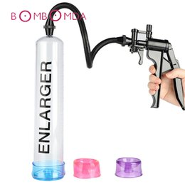 $enCountryForm.capitalKeyWord Australia - Sex Shop Penis Pump Sex Toys For Men Vacuum Handle Vibrator Pacemaker Penis Train Enlargers Sleeve Adult Product Sex Toy For Men Y19061802