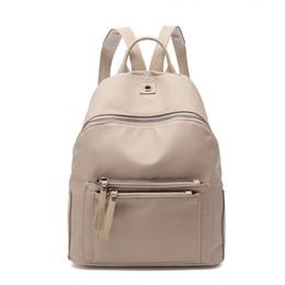 99e1c305bdbc Women Backpack Nylon Casual College Bookbag Female Retro Stylish Daily  Travel Bags For School Teenage Girls Backpack Amz1215