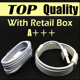 Wholesale Top Quality 1M 3Ft 2M 5FT Micro USB Cable Sync Data Cable Charging Cords With Retail Box For Phone Samsung Galaxy S6 S7