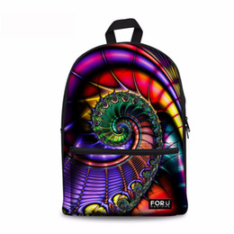Cool Backpacks For Teenage NZ - Noisy Designs Boys Girls School bag Animals Cool School Bags for Teenage Girls Colourful Backpack Shoulder 2018 Popular Style