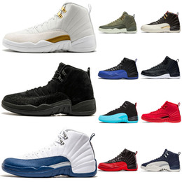 Wholesale ovo white black bulls youth boys men basketball shoes s gamma blue gym red the master taxi outdoor athletic sports sneakers